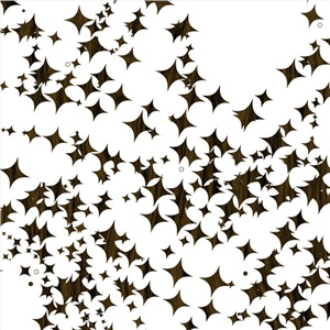 woodgrain christmas stars