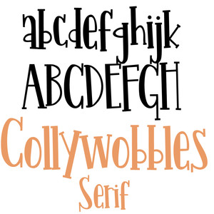 pn collywobbles serif