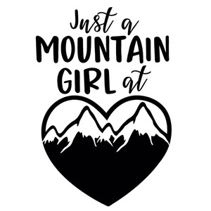 mountain girl at heart