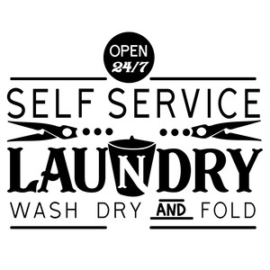 self service laundry wash dry and fold