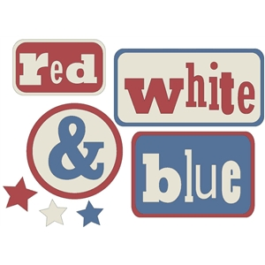 red white and blue squares