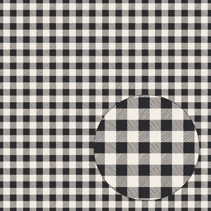 gray & ivory buffalo plaid seamless pattern