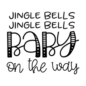 jingle bells jingle bells baby on the way