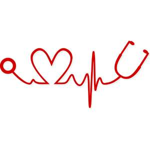 nurse heart pulse