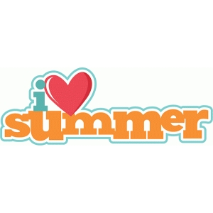 i heart summer title phrase
