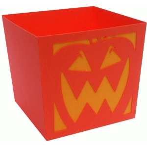 pumpkin candy box