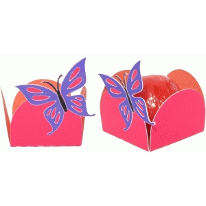 treat holder butterfly