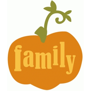 family pumpkin