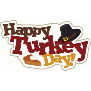 happy turkey day title phrase