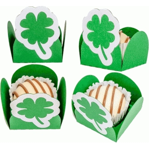 treat holder shamrock