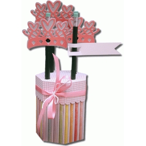 3d princess pencil holder gift