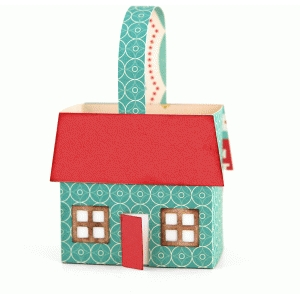 3d house favor box
