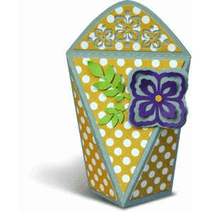 gift box with a flower