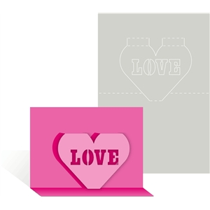 card pop up love