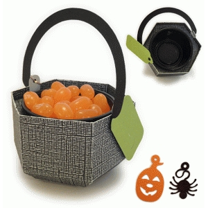 caldron mini candy cup holder
