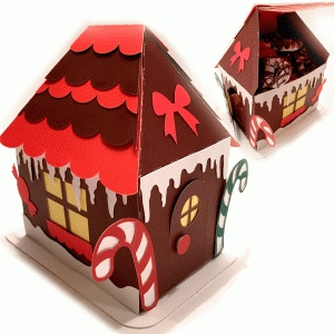 gingerbread treat house