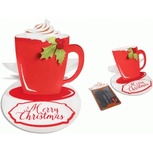 easel gift card holder (cup)
