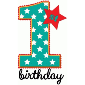 1st birthday - nested