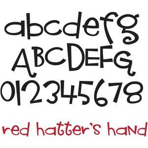 ld red hatter's hand