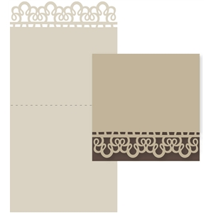 grandma's lace tablecloth card