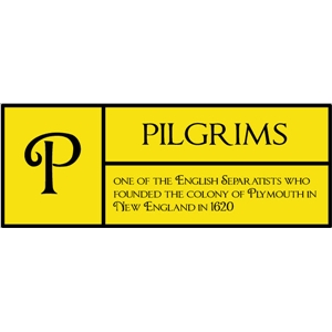 p is for pilgrims pc