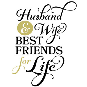 husband & wife best friends