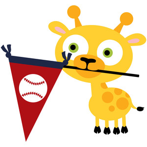 home run giraffe