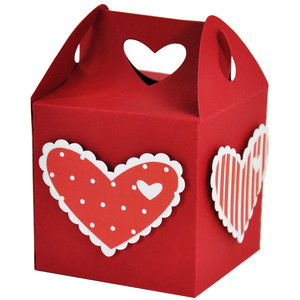 valentine heart treat gift box