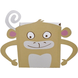 monkey favor bag