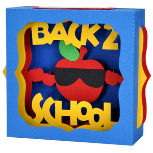 cool back to school apple gift card box