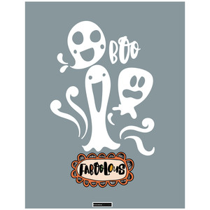 faboolous ghost printable