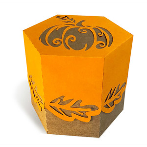 box with pumpkin