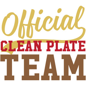 official clean plate team