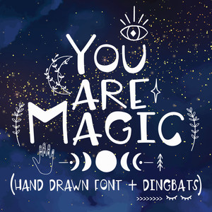 you are magic font