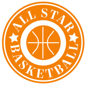 all star basketball label