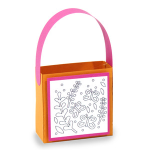 butterfly coloring treat bag