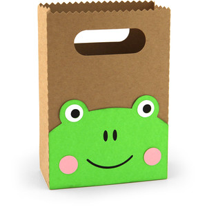 treat bag frog