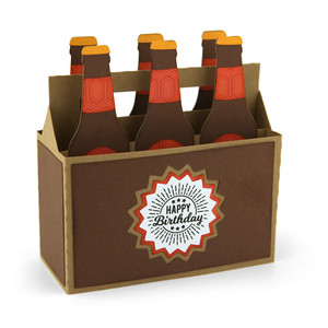 box card 6 pack bottles