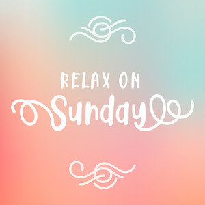relax on sunday font