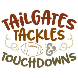 tailgates touchdowns
