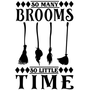 so many broom little time