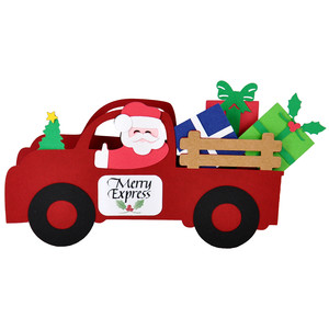 3d merry express gifts truck