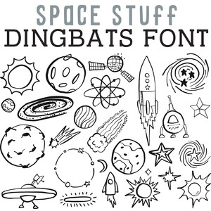 cg space stuff dingbats