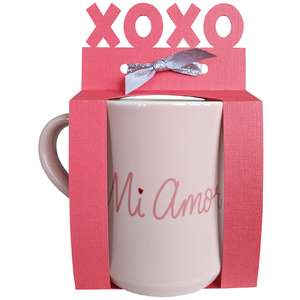 xoxo mug gift wrapper