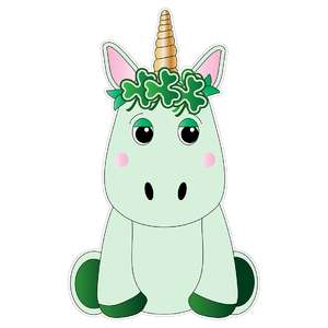 st. patrick's day unicorn