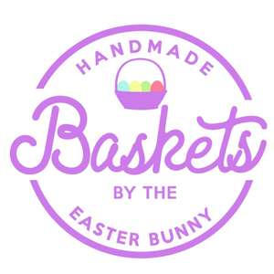 easter basket label & tag