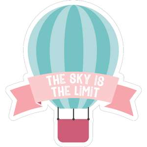 the sky is the limit balloon