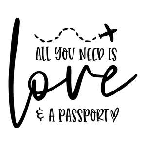 all you need is love and a passport