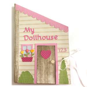 3d paper dollhouse book