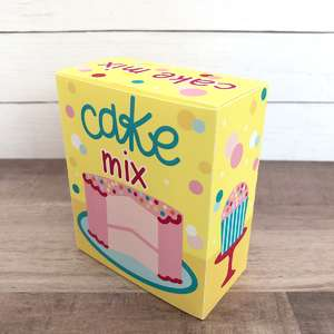 cake mix play food